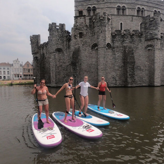 SUP in Gent Start 2 SUP